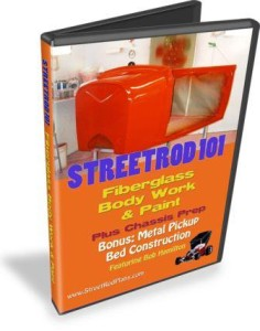 StreetRod 101 Fiberglass Body Work and Paint