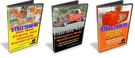 StreetRod 101 DVD collection