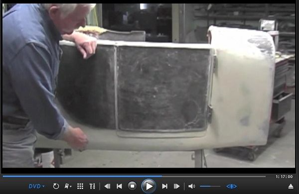 model a hotrod and t bucket modifications 2 dvd set build opening doors in a fiberglass body