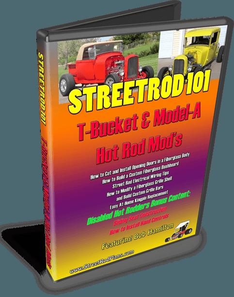 StreetRod101 T-Bucket Model-A Hot Rod Mods